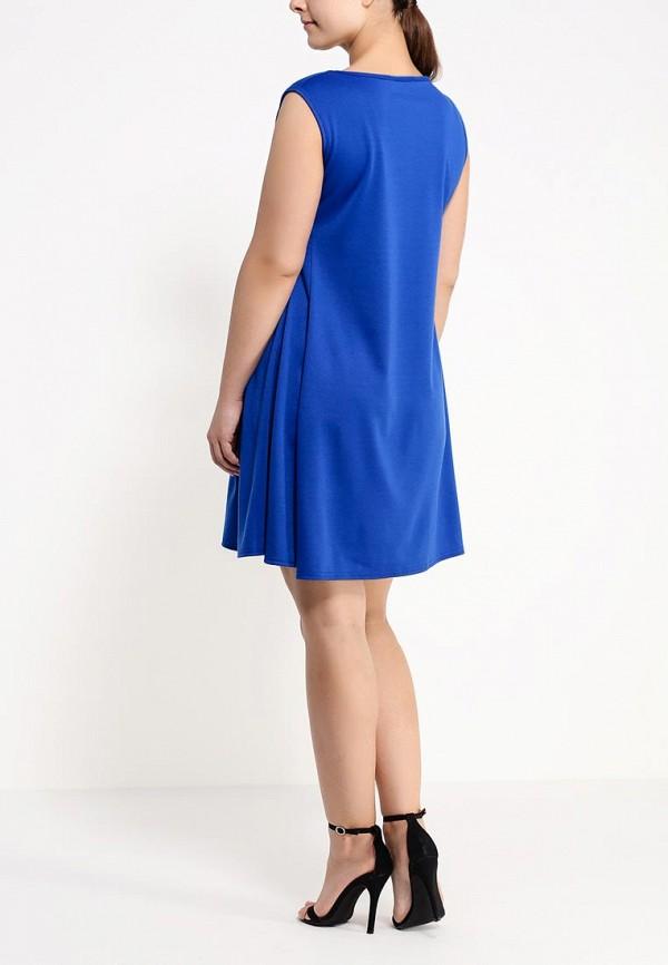 Платье Amplebox Size Plus 13597: изображение 4