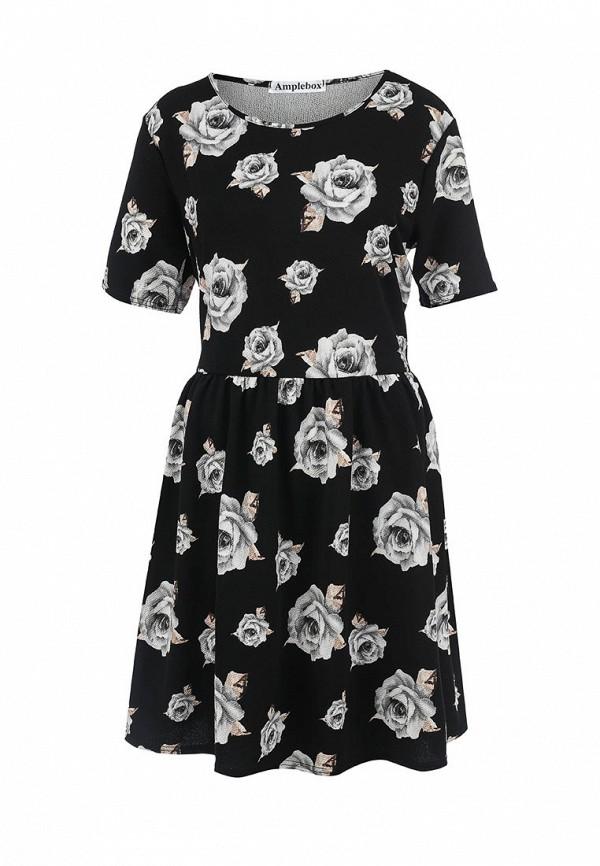 Платье Amplebox Size Plus 12796D: изображение 1