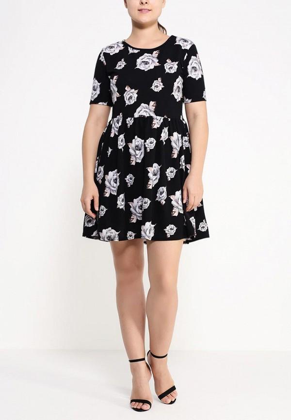 Платье Amplebox Size Plus 12796D: изображение 3