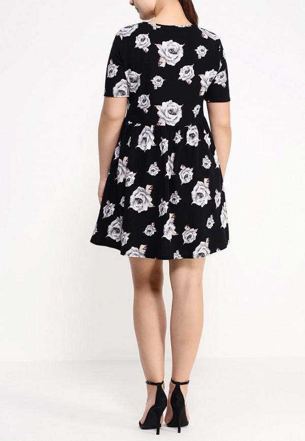 Платье Amplebox Size Plus 12796D: изображение 4