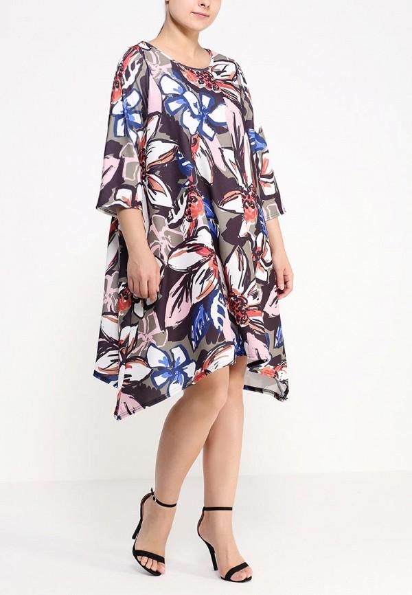 Платье Amplebox Size Plus 13518H: изображение 3