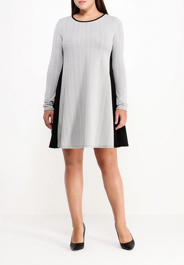 Платье Amplebox Size Plus 13611A: изображение 3