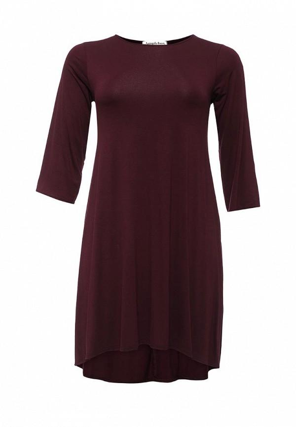 Деловое платье Amplebox Size Plus 13987: изображение 1