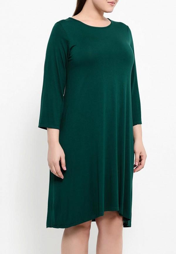 Деловое платье Amplebox Size Plus 13987: изображение 4