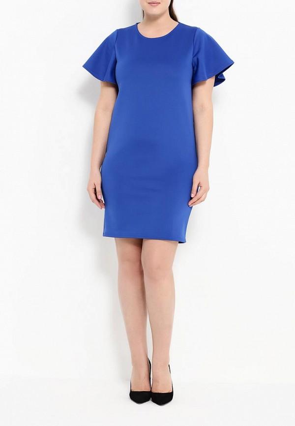 Платье Amplebox Size Plus 13993: изображение 3
