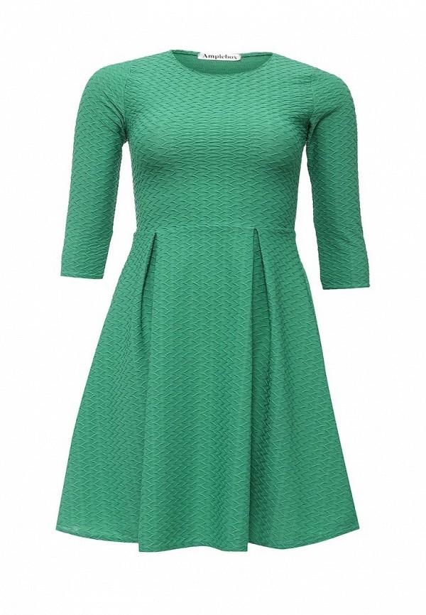 Деловое платье Amplebox Size Plus 13668A1: изображение 1
