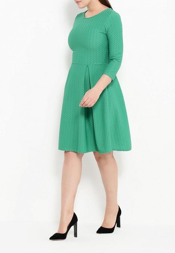 Деловое платье Amplebox Size Plus 13668A1: изображение 3