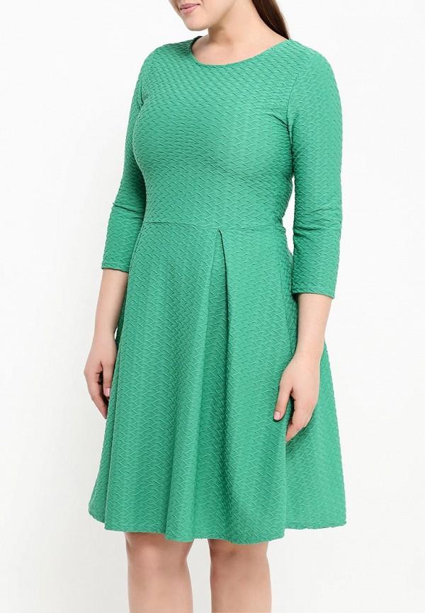 Деловое платье Amplebox Size Plus 13668A1: изображение 4