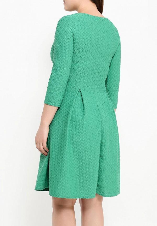 Деловое платье Amplebox Size Plus 13668A1: изображение 5
