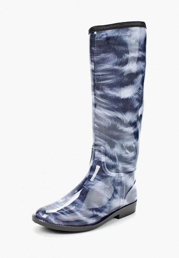 Резиновые сапоги Sandra цвет серый, синий сезон демисезон, зима страна Россия размер 36, 37, 38, 39, 40