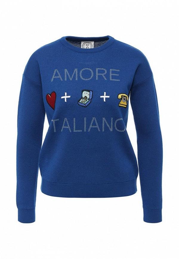 Пуловер 10x10 An Italian Theory (Тен Тен Эн Италиан Фиори) AD617: изображение 1