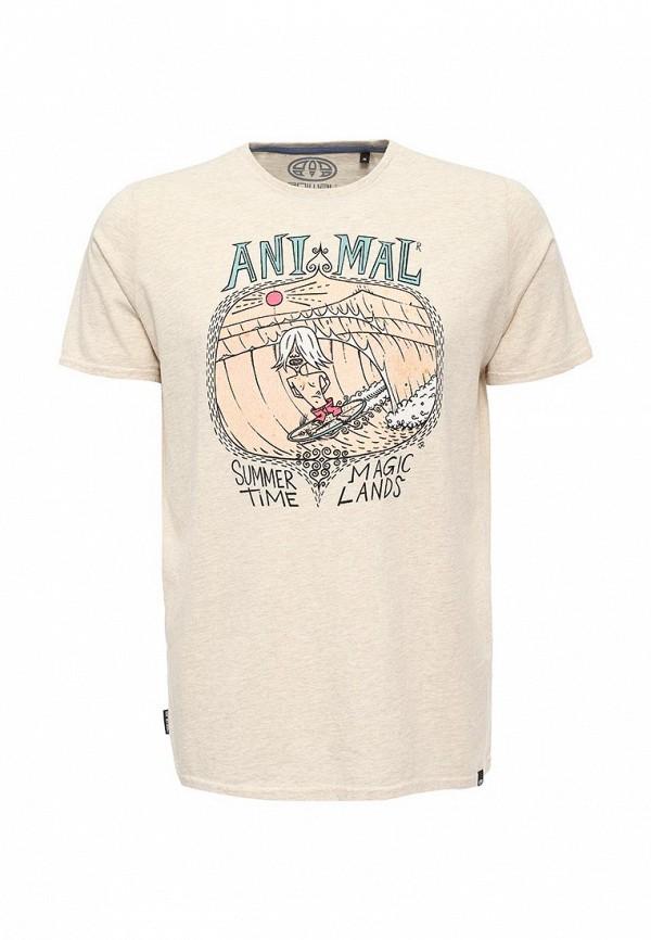 Футболка с надписями Animal CL6SJ057