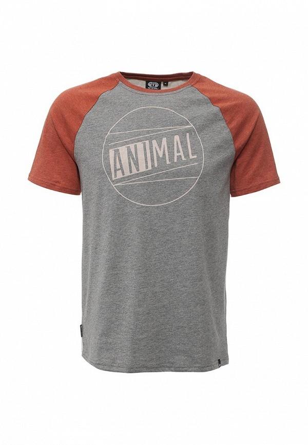 Футболка с надписями Animal CL6SJ063: изображение 2
