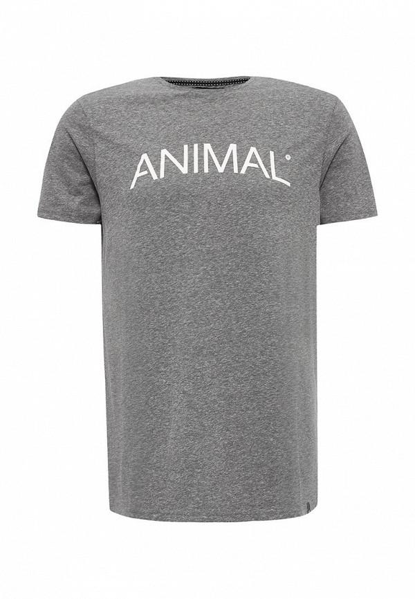 Футболка с надписями Animal CL6WJ037: изображение 1
