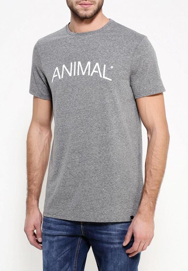 Футболка с надписями Animal CL6WJ037: изображение 4