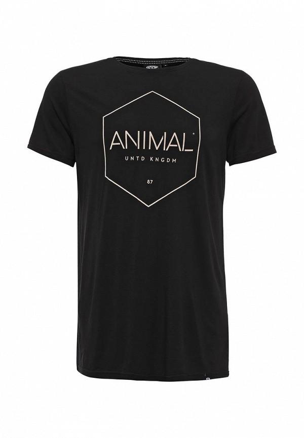 Футболка с надписями Animal CL6WJ038