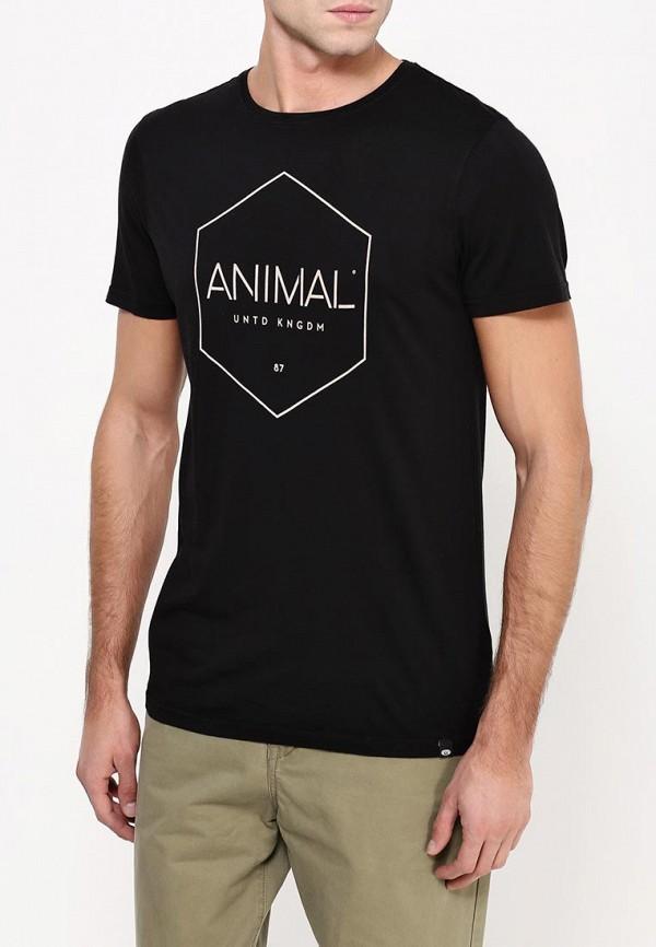 Футболка с надписями Animal CL6WJ038: изображение 4