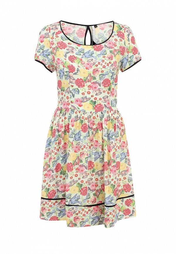 Платье-миди AngelEye London W010960: изображение 1