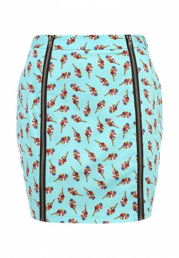 Прямая юбка AngelEye London W011002: изображение 1