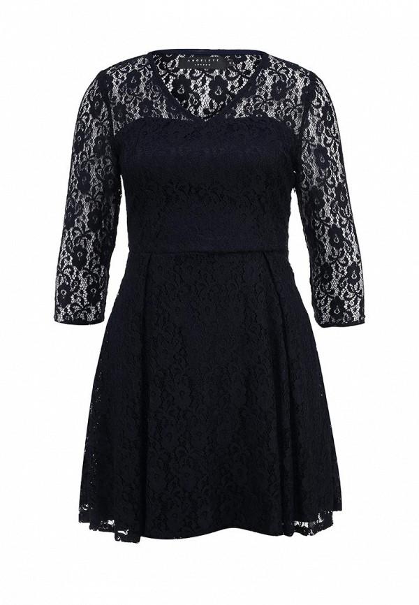 Платье-мини AngelEye London L010676: изображение 1