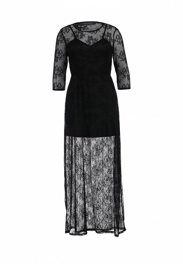 Платье-макси AngelEye London L011857: изображение 1