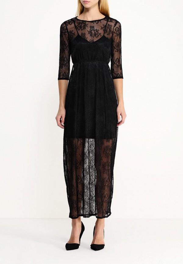 Платье-макси AngelEye London L011857: изображение 2