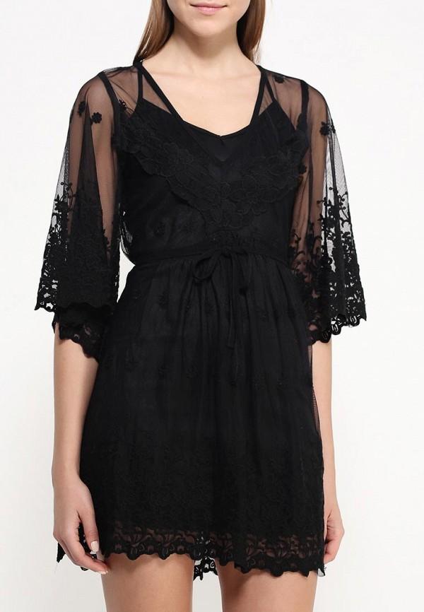 Платье-миди AngelEye London L015099: изображение 4