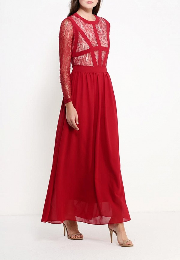 Платье-макси AngelEye London Y015482: изображение 2