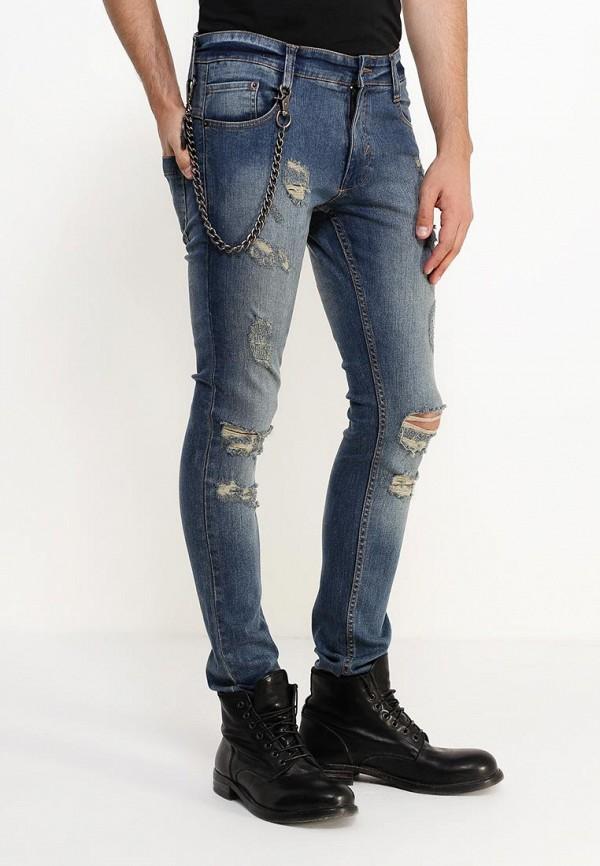 Зауженные джинсы Anerkjendt 9416509: изображение 3