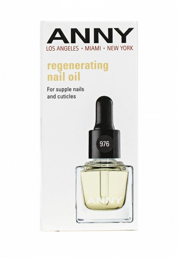 Масло Anny Восстанавливающее для ногтей и кутикулы с маслом миндаля, витаминами С и Е