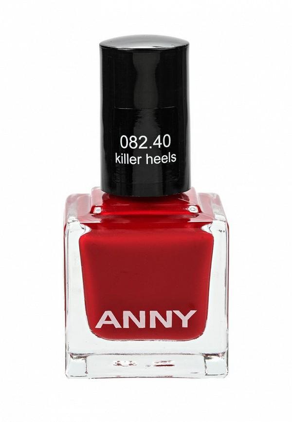 Лак для ногтей Anny тон 082.40 Насыщенный красный