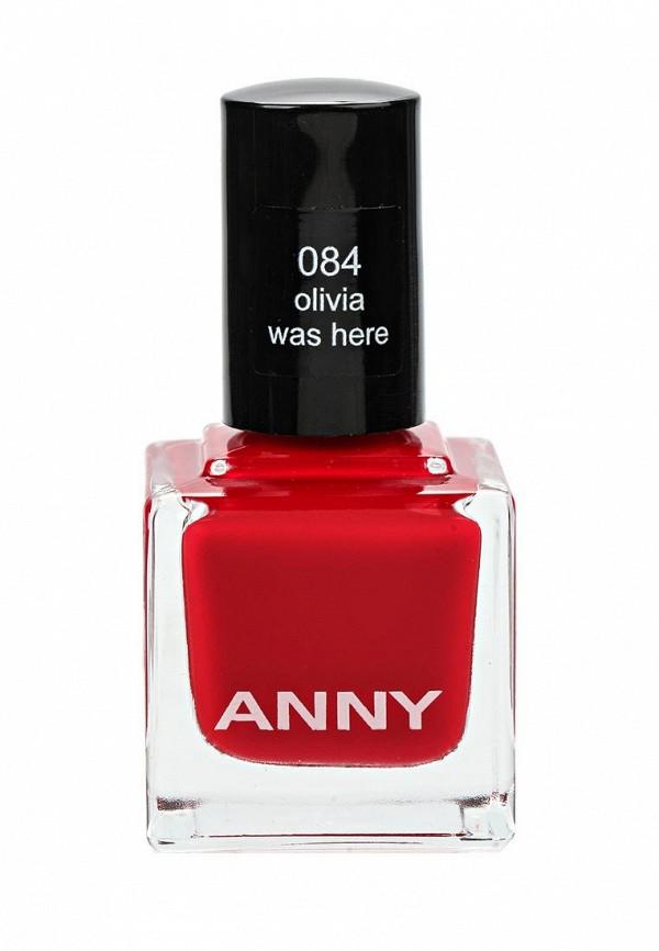 Лак для ногтей Anny тон 84 свежий красный