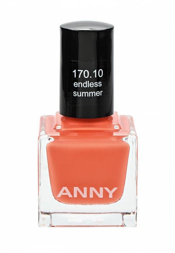Лак для ногтей Anny тон 170.10 мерцающий красный мандарин