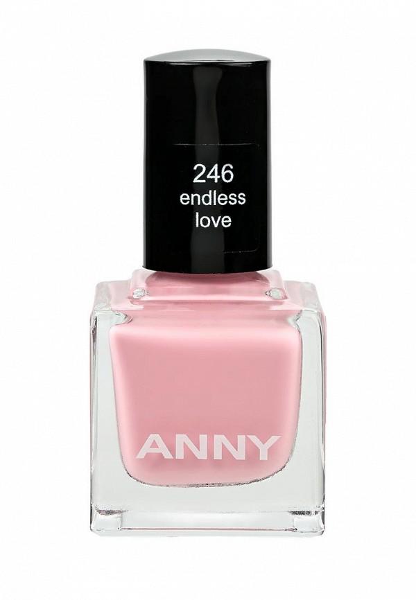 Лак для ногтей Anny тон 246 сладкий теплый розовый
