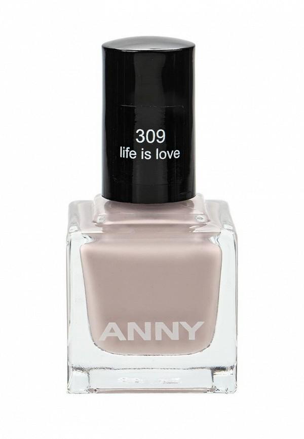 Лак для ногтей Anny тон 309 элегантный  nude