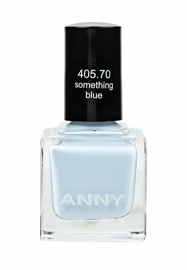 Лак для ногтей Anny тон 405.70 сливочный светло-голубой