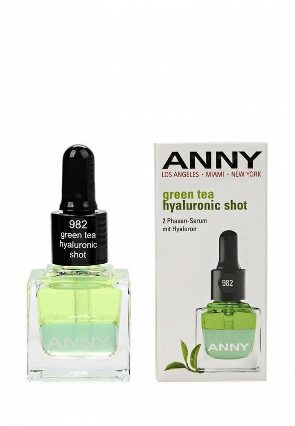 Сыворотка для ногтей Anny с гиалуроновой кислотой green tea hyaluronic shot