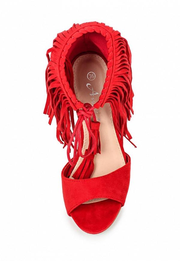 Босоножки на каблуке Anesia 66-157: изображение 4