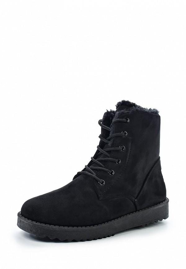 Фото - женские ботинки и полуботинки Anesia черного цвета