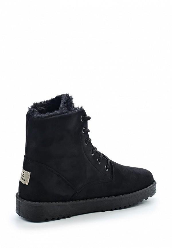 Фото 2 - женские ботинки и полуботинки Anesia черного цвета