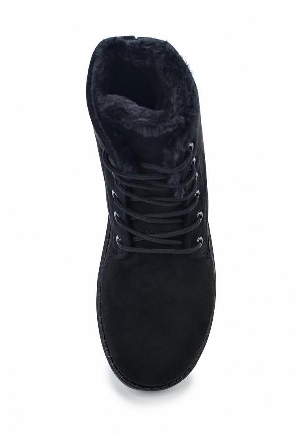 Фото 4 - женские ботинки и полуботинки Anesia черного цвета