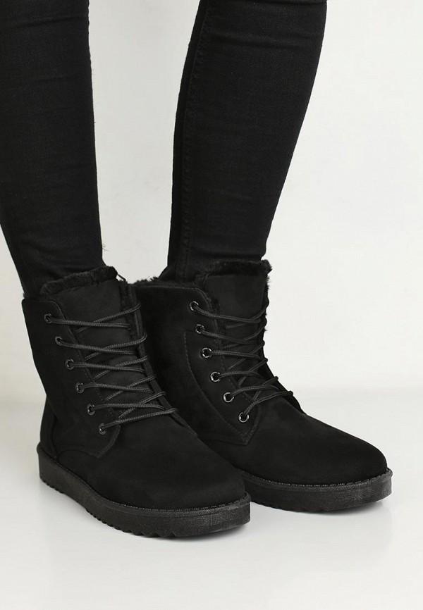 Фото 5 - женские ботинки и полуботинки Anesia черного цвета