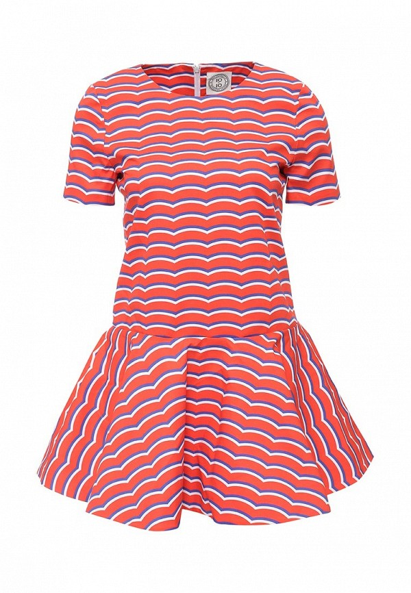 Платье-мини 10x10 An Italian Theory (Тен Тен Эн Италиан Фиори) AN26V083: изображение 1