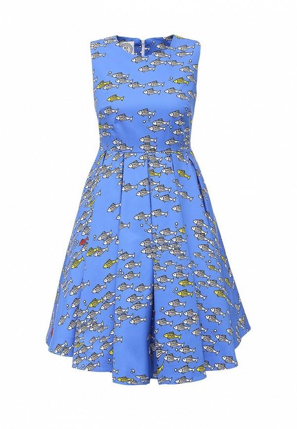 Платье-миди 10x10 An Italian Theory AN26V202: изображение 1