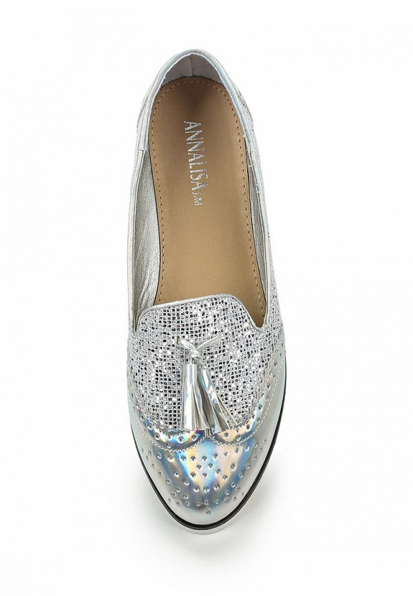 Туфли на плоской подошве Annalisa JM-B199: изображение 4