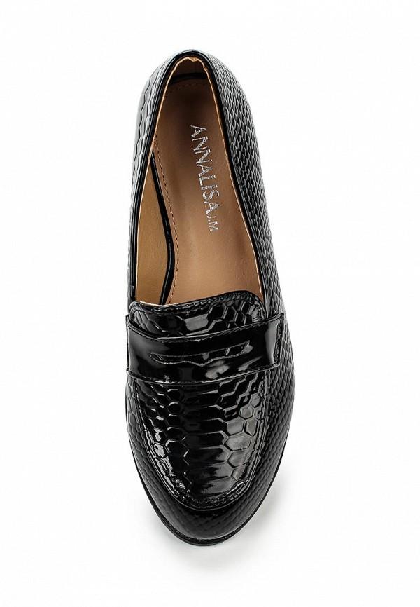 Туфли на плоской подошве Annalisa JM-N190: изображение 4