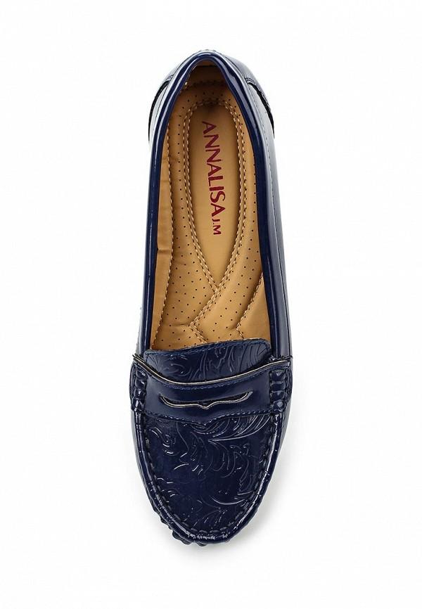 Туфли на плоской подошве Annalisa JM-Z318: изображение 4