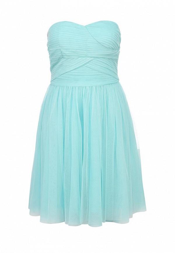 Платье Ark & co. Цвет: голубой