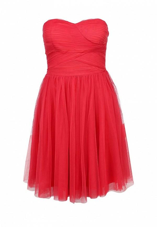 Платье Ark & co. Цвет: красный