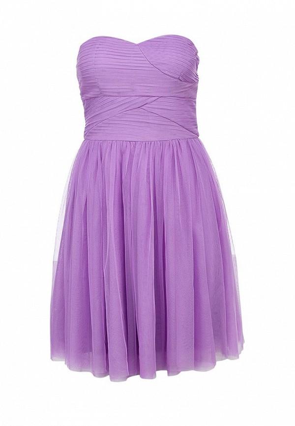 Платье Ark & co. Цвет: фиолетовый